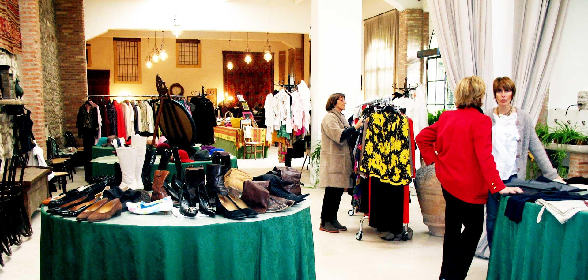 Estate San Martino - Mercatino charity abbigliamento Verona